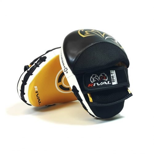 Rival RPM7 Fitness Plus Punch Mitts Black Gold