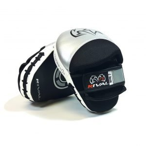 Rival RPM7 Fitness Plus Punch Mitts Silver Black