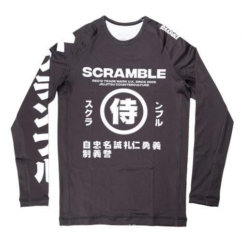 Scramble Shadows V2 Rash Guard Black