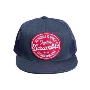 Scramble Technique & Spirit Trucker Hat Navy