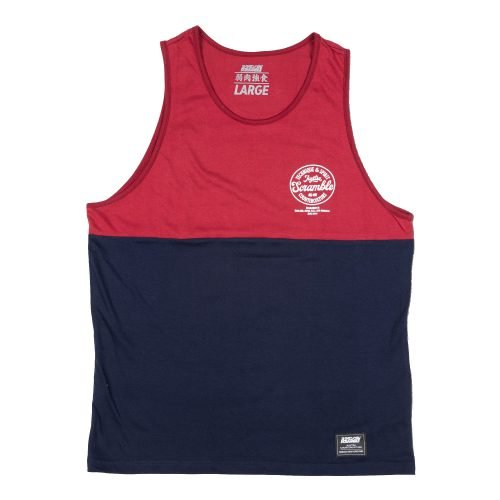 Scramble Technique & Spirit Vest Red Navy