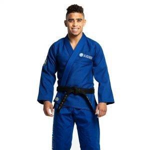 Jiu Jitsu Athletica Modelo Basix BJJ Gi Blue by Storm - FREE BELT