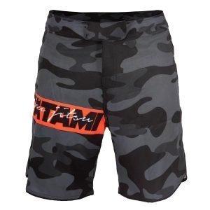 Tatami Red Bar Camo Shorts