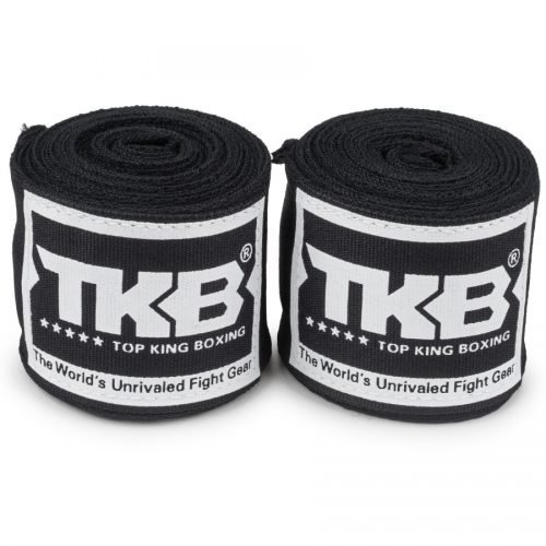 Top King 4M Hand Wraps Black