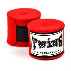 Twins 5M CH5 Red Premium Elastic Handwraps