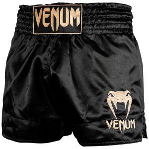 Venum Muay Thai Shorts Classic Black Gold