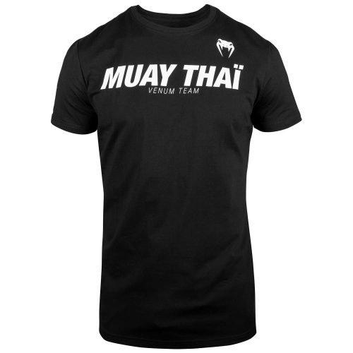 Venum Muay Thai VT T-Shirt Black White