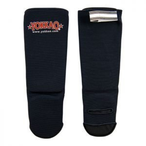 YOKKAO Kids Shinguards Cotton Black