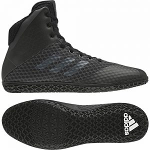 Adidas Mat Wizard 4 Black Boxing Boots