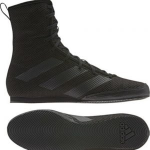 Adidas Box Hog 3 Black Boxing Boots