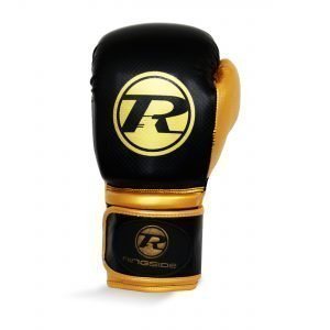 Ringside Pro Fitness Glove Synthetic Leather Glove Black Gold