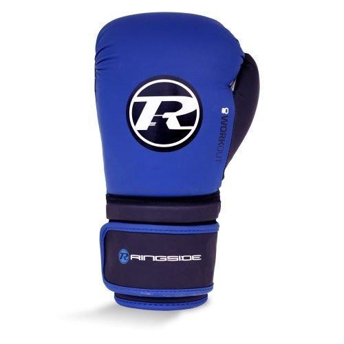 Ringside Workout Series Glove Blue Black White