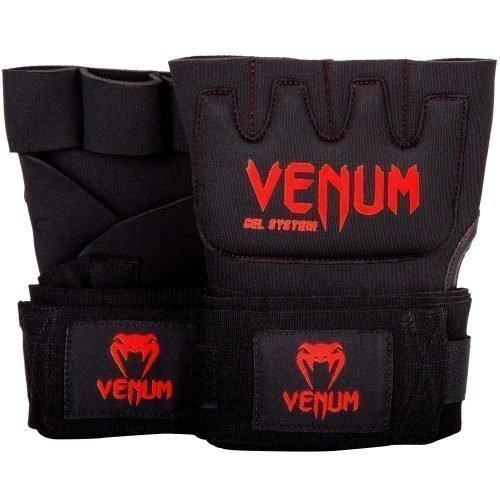 Venum Kontact Gel Glove Wraps Black Red
