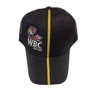 WBC Boxing Baseball Cap Black