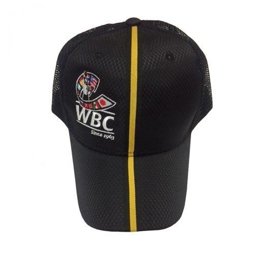 WBC Boxing Baseball Cap Black