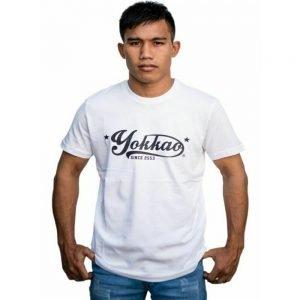 YOKKAO Vertigo White T-Shirt