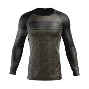 Kingz Digital Camo Rash Guard Long Sleeve
