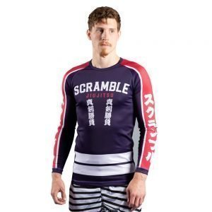 Scramble Buku Hikeshi Rash Guard