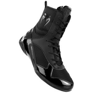 Venum Elite Boxing Shoes Boots Black