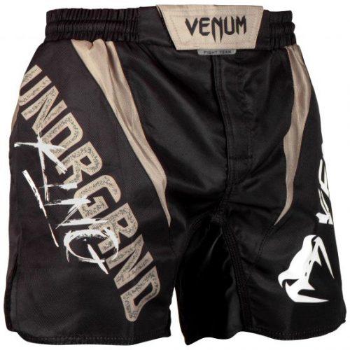 Venum Underground King Fight Shorts Black Sand
