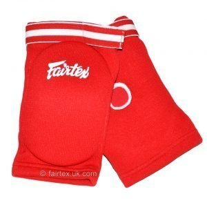 Fairtex Elbow Guard Red Cotton