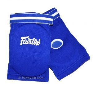 Fairtex Elbow Guard Blue Cotton