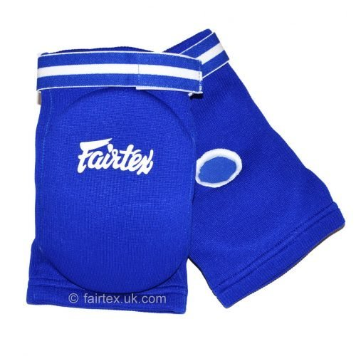 Fairtex Elbow Guard Blue Cotton