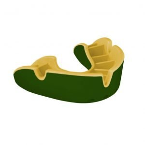 OPRO Mouth Guard Gen 3 Silver Level Green Gold