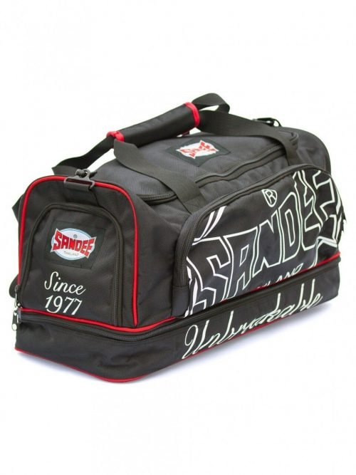 Sandee Heavy Duty Holdall Large Black Red