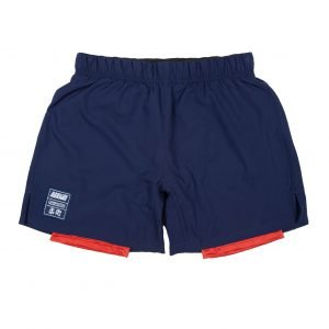 Scramble Combination Shorts Navy Red