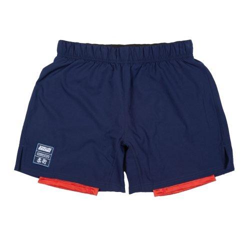Scramble Combination Shorts Navy Red