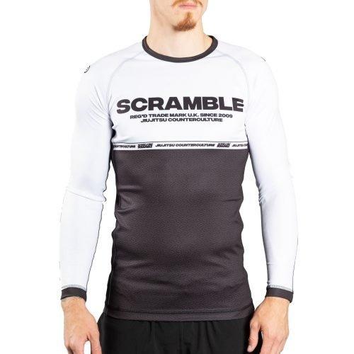 Scramble Ranked Rash Guard V4 White