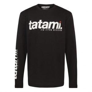 Tatami Base Collection Black Long Sleeve T-Shirt