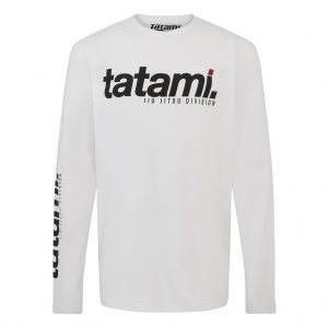 Tatami Base Collection - White Long Sleeve T-Shirt