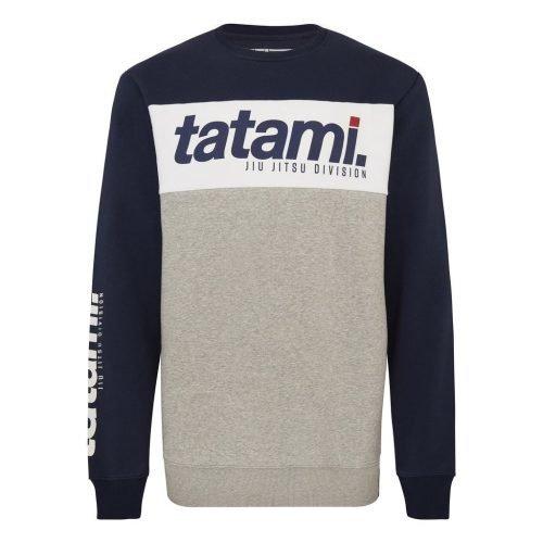 Tatami Base Collection Navy Tri-Panel Sweatshirt