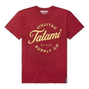 Tatami Classic Logo T-Shirt Burgundy