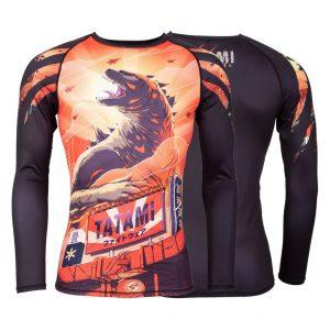 Tatami Godzilla Long Sleeve Rash Guard