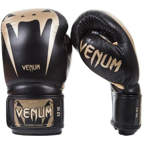 Venum Boxing Gloves Giant 3.0 Nappa Leather Black Gold