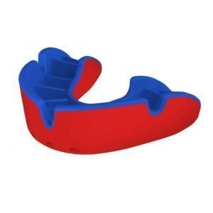 OPRO Mouth Guard Gen 3 Silver Level Red Blue