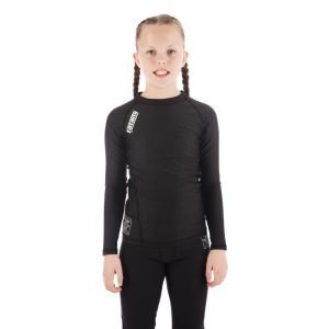 Tatami Kids Nova Rash Guard Black