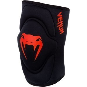 Venum Kontact Gel Knee Pads Black Red