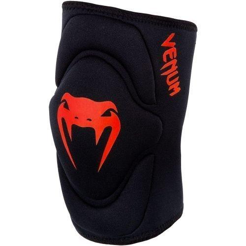 Venum Kontact Gel Knee Pads Black Red