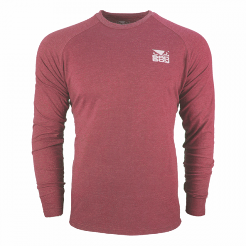 Bad Boy Icon T-Shirt Long Sleeve Red