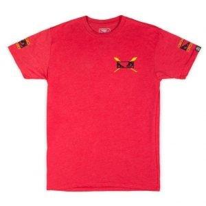 Bad Boy Aztec Warrior T-Shirt Red