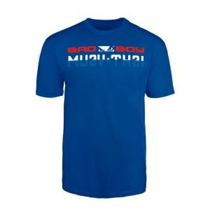 Bad Boy Muay Thai Discipline T-Shirt Blue