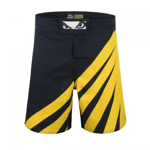 Bad Boy Training Series Impacts MMA Shorts Black Yellow