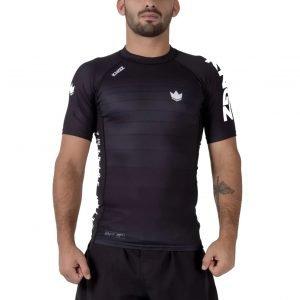 Kingz Ranked V5 Rash Guard Short Sleeve Black