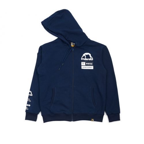 Manto Zip Hoodie Levels Navy Blue