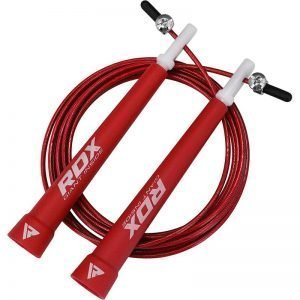 RDX C9 Adjustable Skipping Rope Red