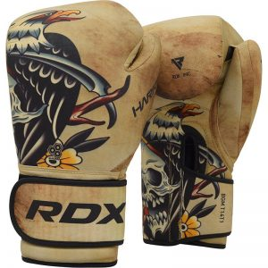 RDX T14 HARRIER Tattoo Boxing Gloves